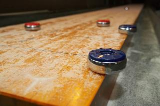 SOLO® Shuffleboard Movers Corvallis, Oregon.